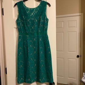 Green lace BCBG Dress